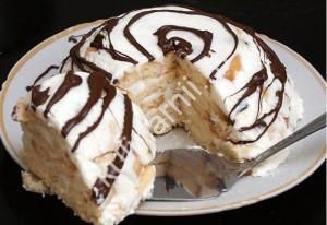 Домашний торт на день рождение рецепт