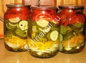 летний салат на зиму рецепт с фото