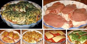 Мясо под шубой рецепт фото