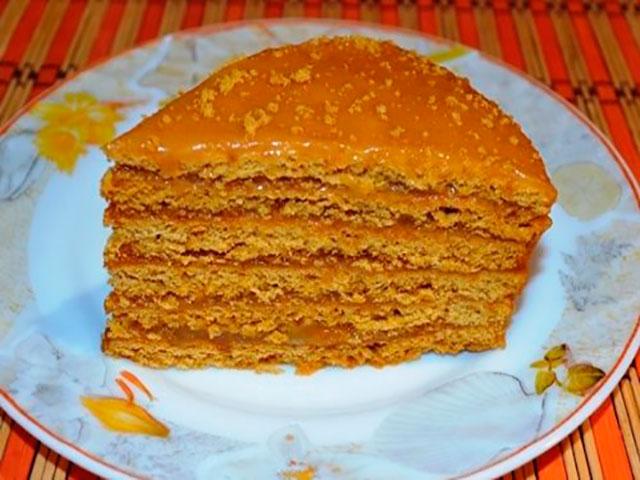 Рецепты тортов со сгущёнкой в домашних условиях 262