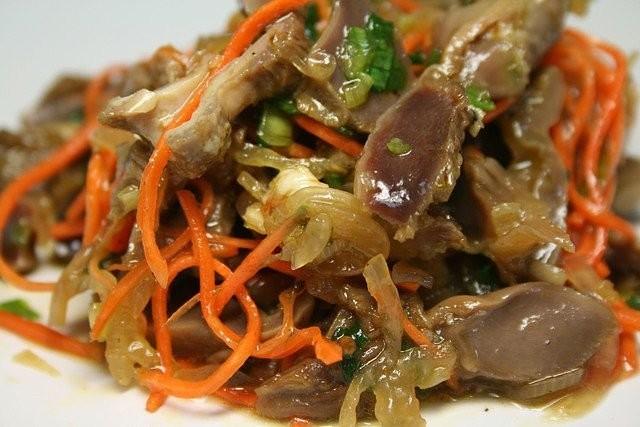 Куриное мясо по корейски