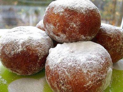 Очень вкусные пончики быстрого приготовления