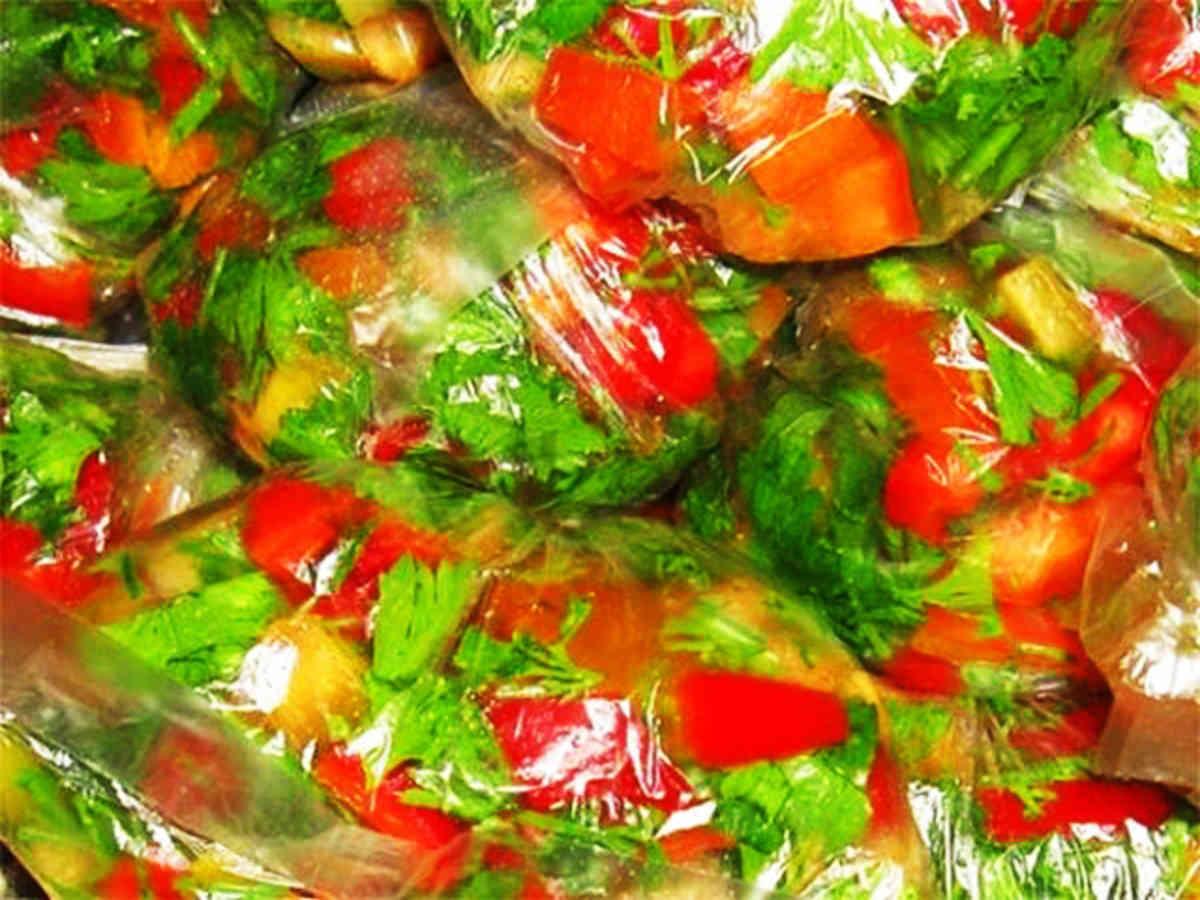 Морозим овощи на зиму рецепты