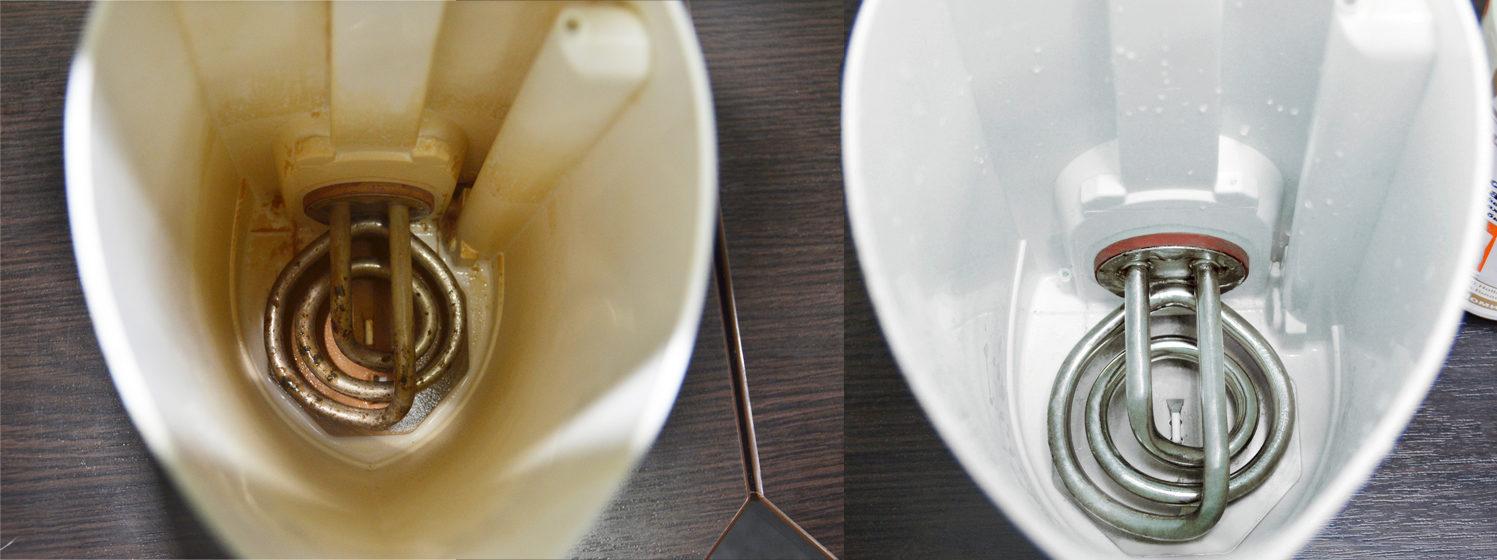 Чем удалить накипь из чайника в домашних условиях