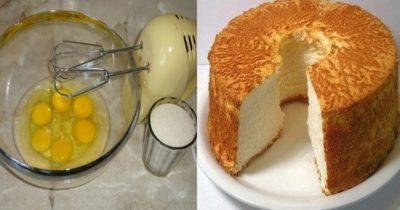 Секреты выпечки бисквита