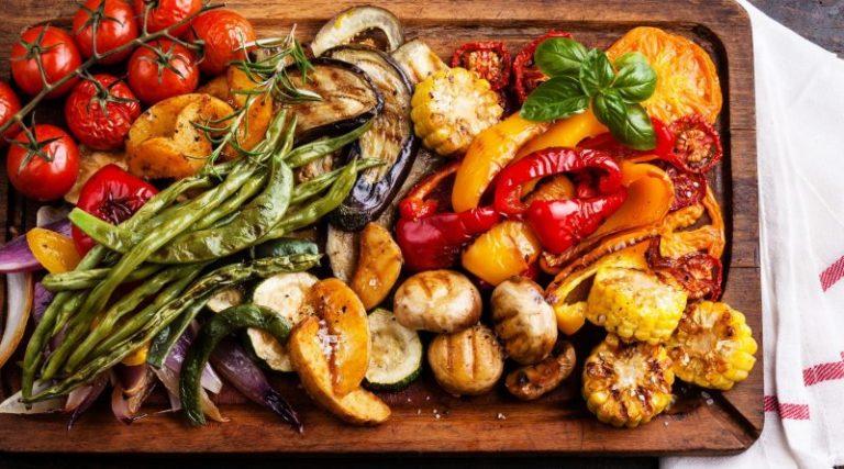 Как сделать овощи на гриле на костре 529