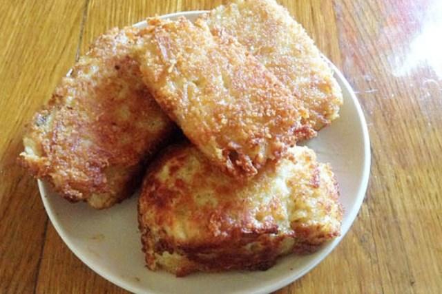 Хек в сырно-картофельной шубке