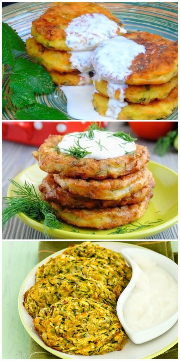 Воздушные овощные оладьи. Полноценное блюдо, вместо привычных котлет. Этот рецепт будут выпрашивать все.