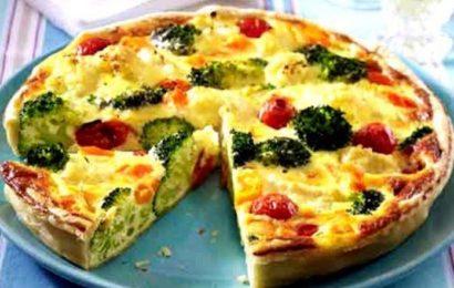 Овощная запеканка для тех, кто на диете