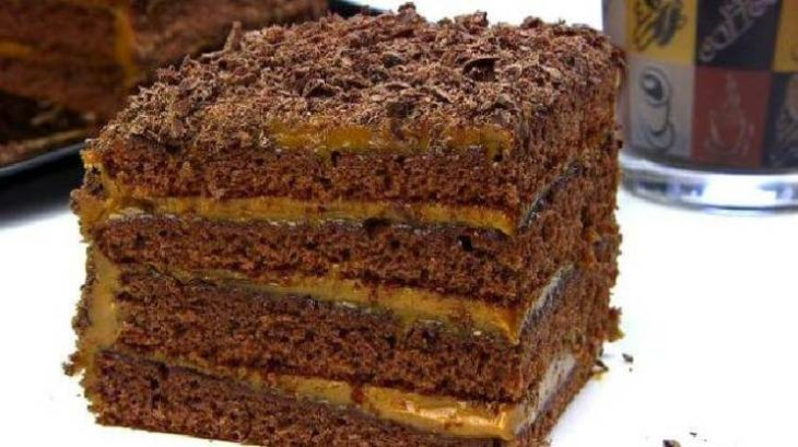 Шоколадный обалденно - вкусный медовый торт СПАРТАК за 30 минут.