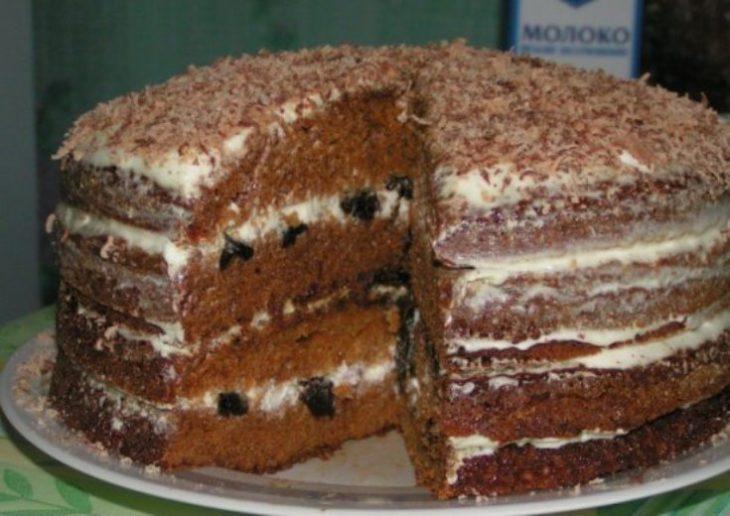 """Торт """"Медовая нежность"""""""
