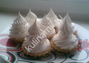 пирожное корзиночка рецепт с фото