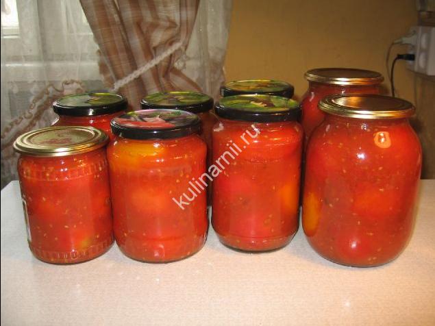 помидоры в собственном соку фото