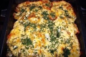 Картошка по-французски с мясом фото