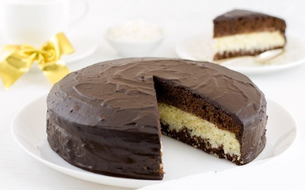 Торт «Баунти» фото