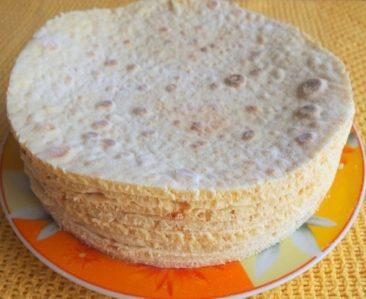korji dlea torta bez duhovki foto