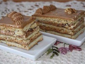 """Торт """"Ленинградский"""" дома"""