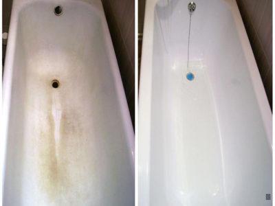 Ванна будет сиять как новая через 30 минут