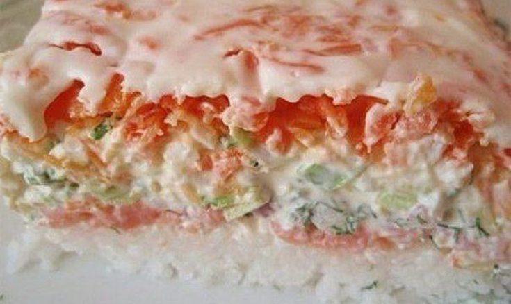 Салат «Японские суши»