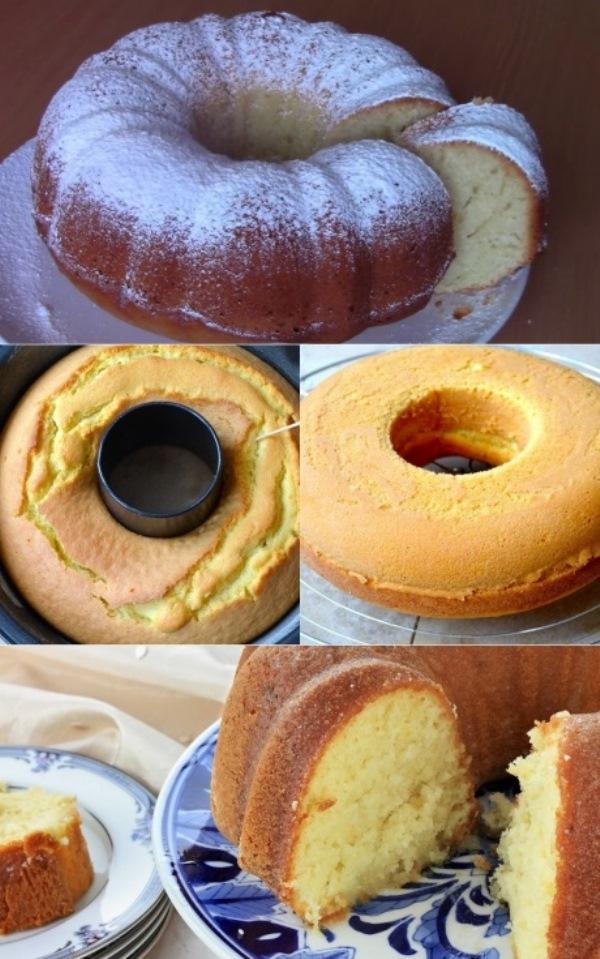 Воздушный итальянский кекс «Облачко» («Nuvolino»): можно есть бесконечно, настолько легкий... Готовится не просто, а очень просто.