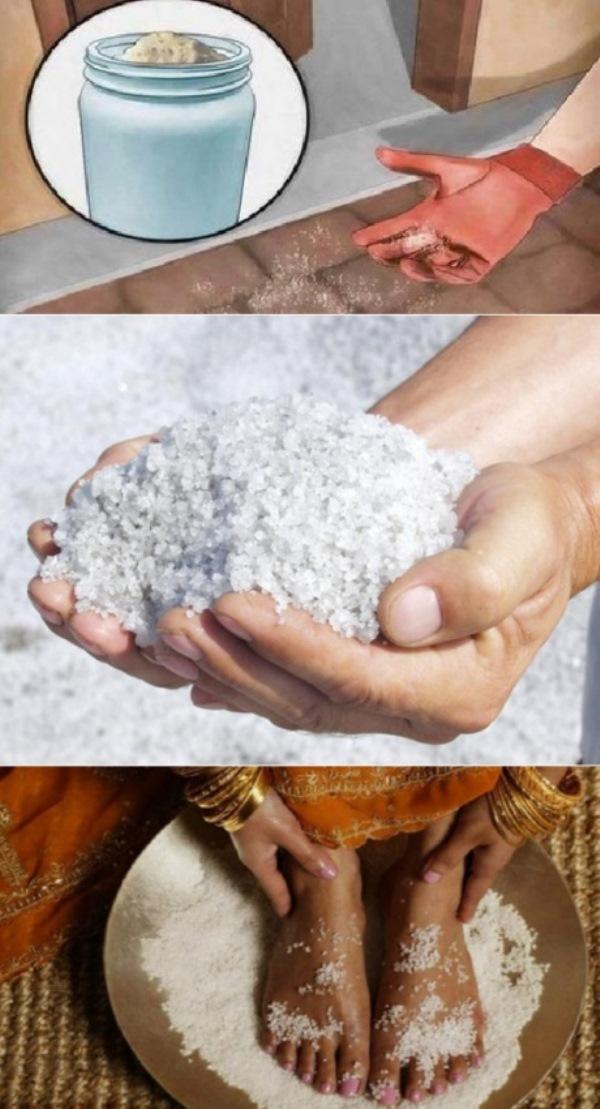 Знакомая затворница рассказала мне, зачем рассыпать соль на пороге... Делаю так перед уходом на работу!