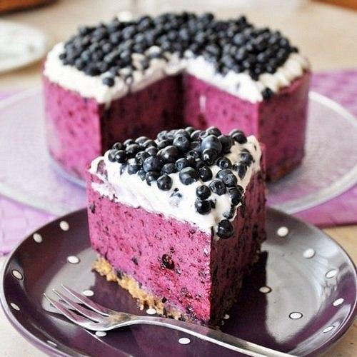 Черничный творожник: замена калорийным тортам!