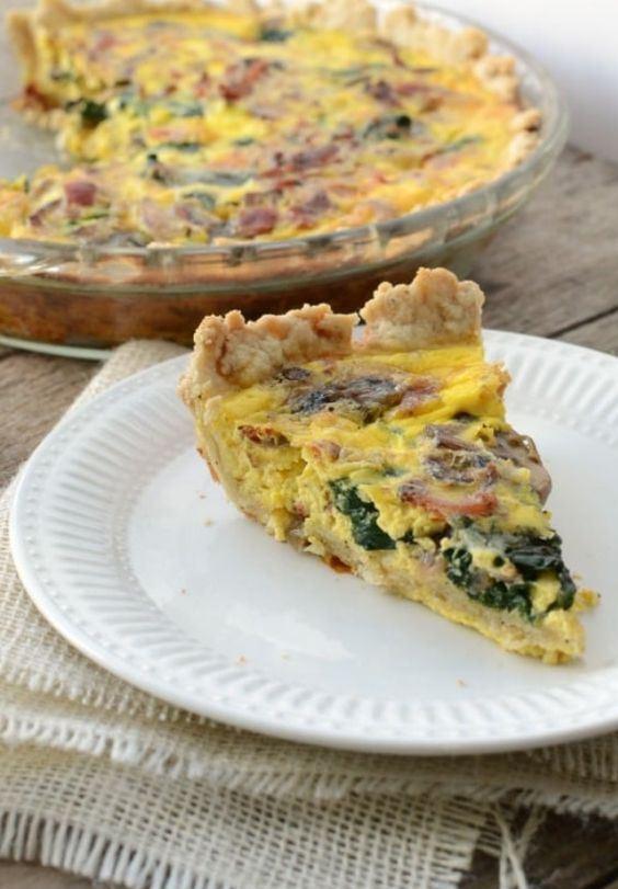 Низкокалорийный яичный пирог с овощами: давно искала этот рецепт