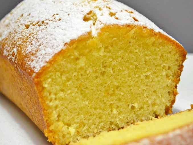 Лимонный пирог-кекс — палочка-выручалочка для любой хозяйки!