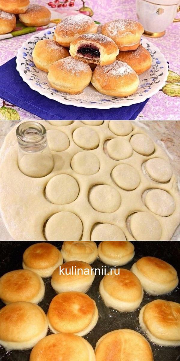 Пончики с начинкой — рецепт с польского сайта, безумно вкусно