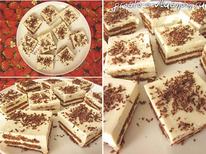 Обалденный торт за 20 минут без выпечки. Я делаю его очень часто