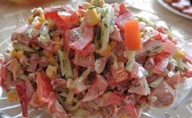 """Вкуснейший салат """"Парижель"""""""