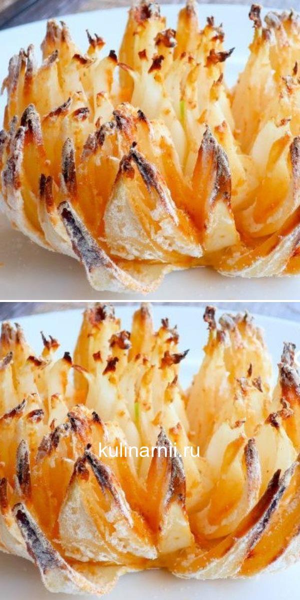 «Хризантема» в духовке - вкусная хрустящая закуска